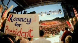 Romney at Red Rocks